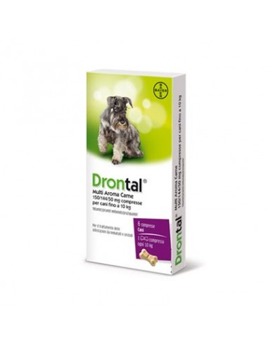 Drontal Multi Aroma Carne*6 Cpr Cani