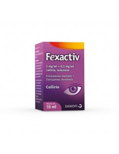Fexactiv*collirio 10 Ml 0,3...