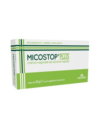 Micostop Plus Crema Vaginale 30 G + 6...