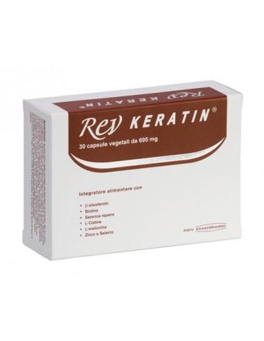 Rev Keratin 30 Capsule