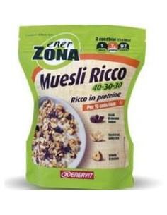 Enerzona Muesli Ricco 40-30-30 230 Grammi