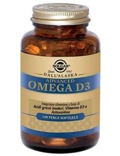 Advanced Omega D3 120 Perle...
