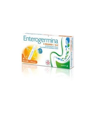 Enterogermina 10 Flaconcini 4 Miliardi